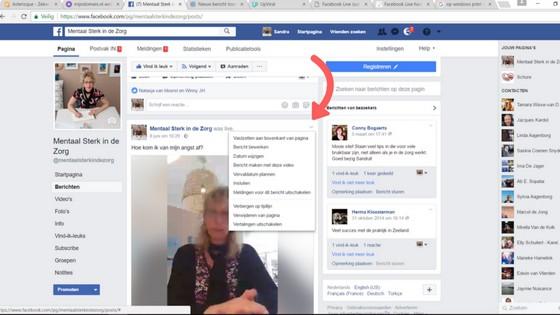 Facebook Live uitleg