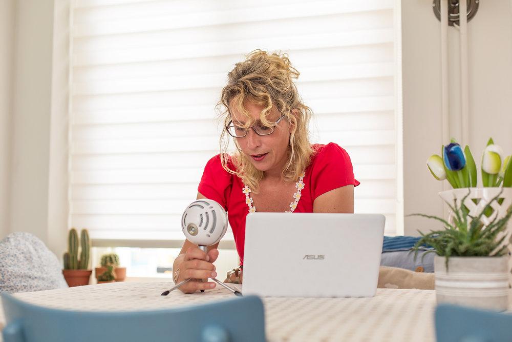 Podcast van Mentaal Sterk met Sandra